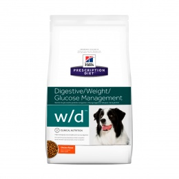 Hills Hills Canine W/D Digestive / Weight / Glucose Mgmt.